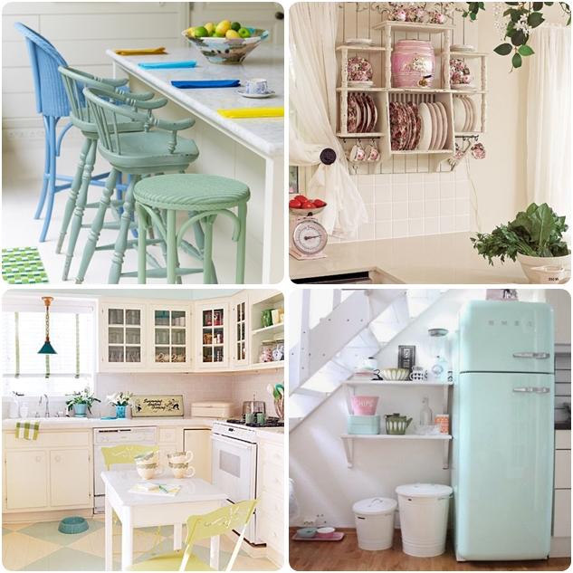 pastel-renkte-mutfaklar