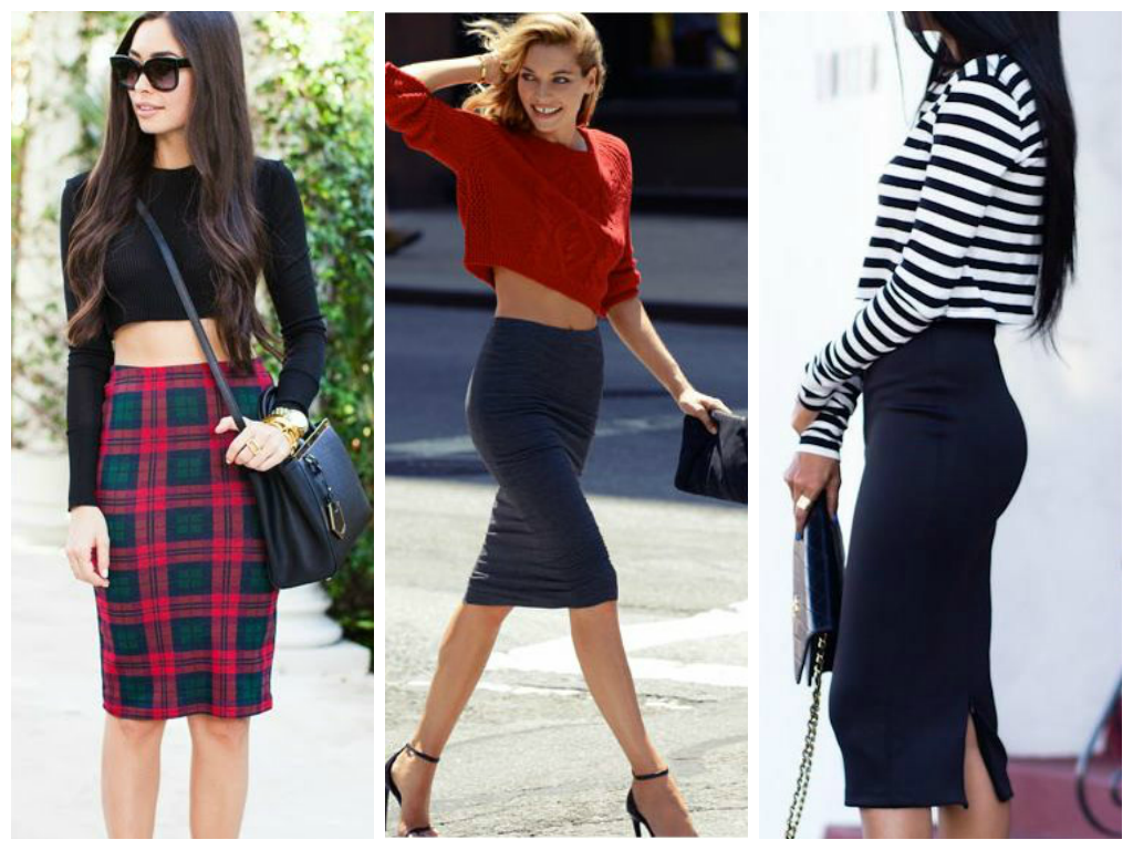 Bu Kombin Çok Trend: Uzun Kazaklar Ve Kısa Etekler