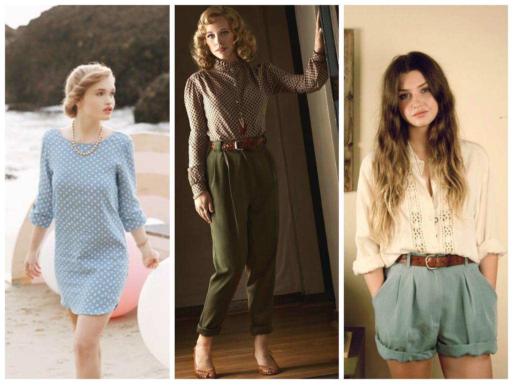 vintage moda akımı