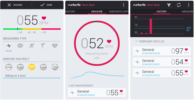Heart Rate Runtastic