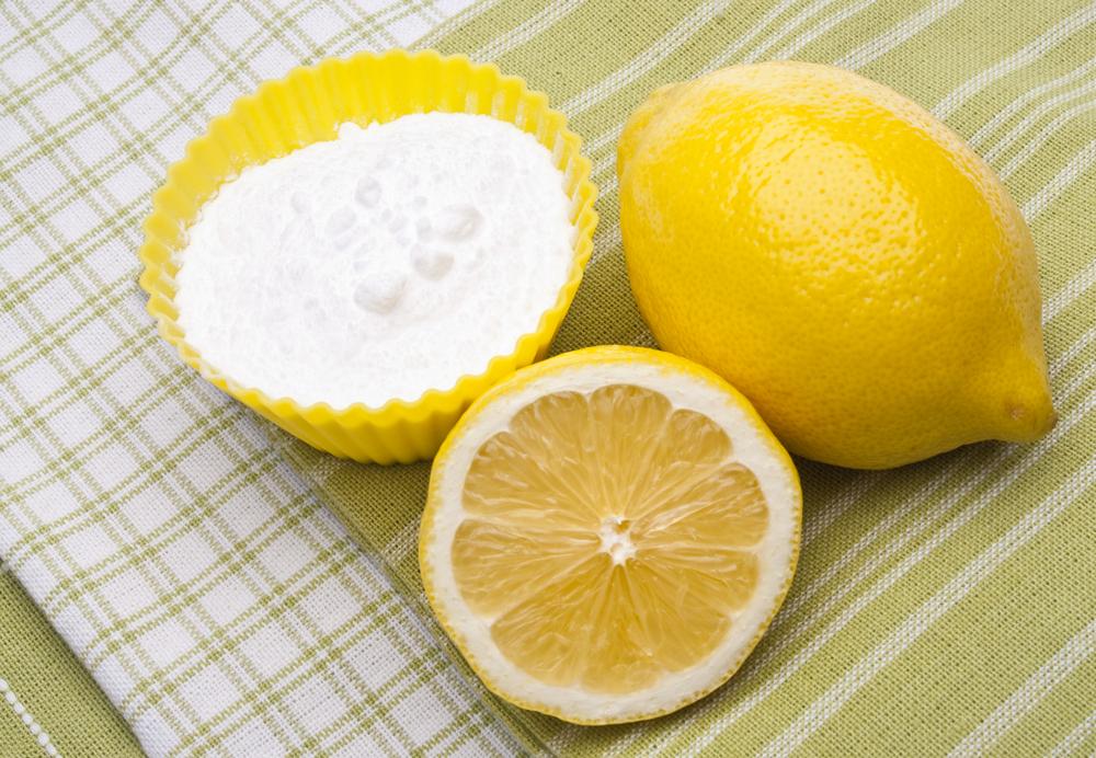 lemon ve karbonat ile diş beyazlatma