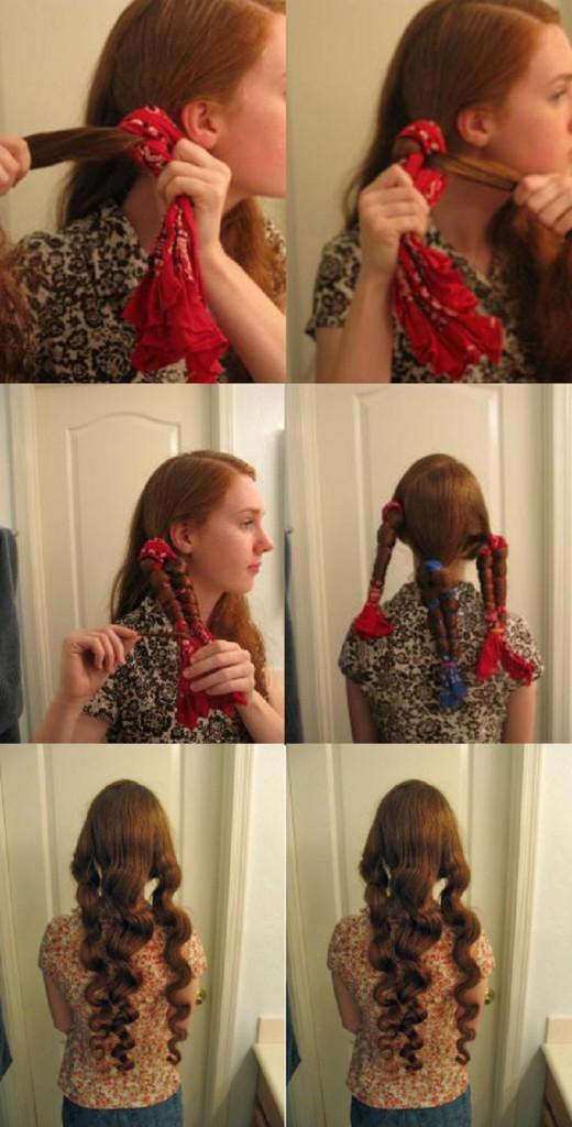 bandana-ile-dalgalı-saç