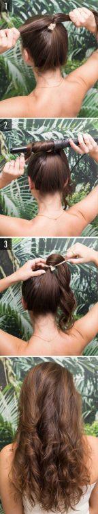iş yeri için uygun saç modelleri ve yapılışı