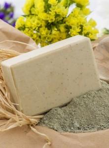 cilt için kil sabunu