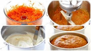 havuçlu kremalı kek yapımı
