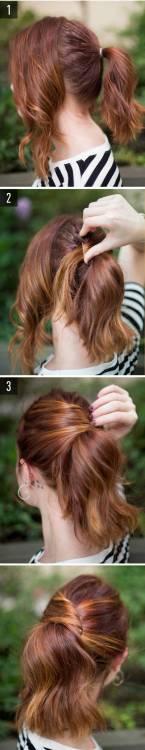 kolay saç modelleri 1