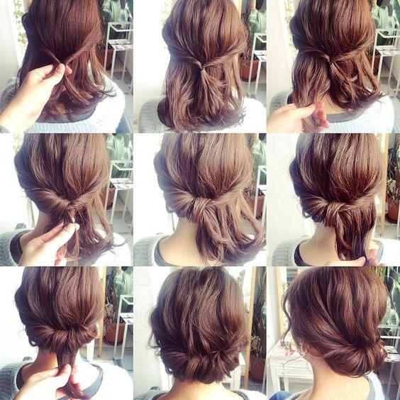 pratik saç modelleri 6