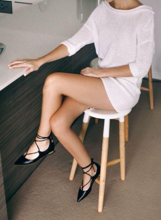 bağcıklı trend ayakkabı