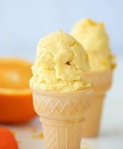 portakallı dondurma