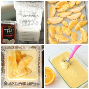 portakallı ev yapımı dondurma