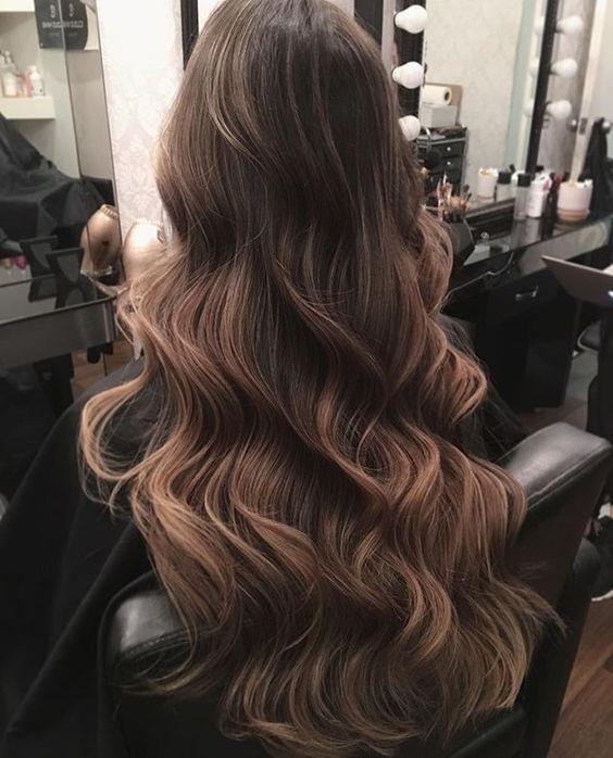2017 Saç Rengi Trendi Balyaj Yaşam Tonu