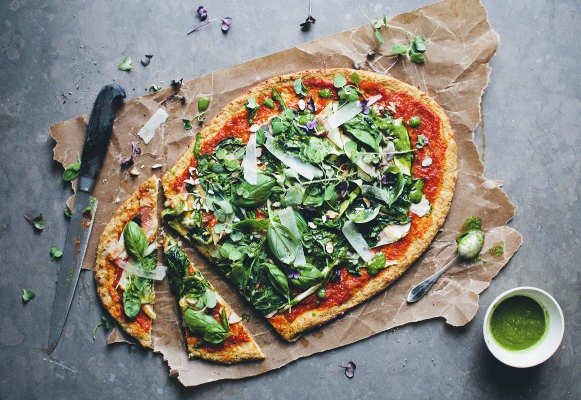 Karnabaharlı pizza tarifi