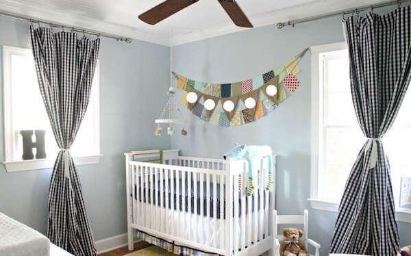 Photo of Bebek Odası Perde Fikirleri – Modelleri