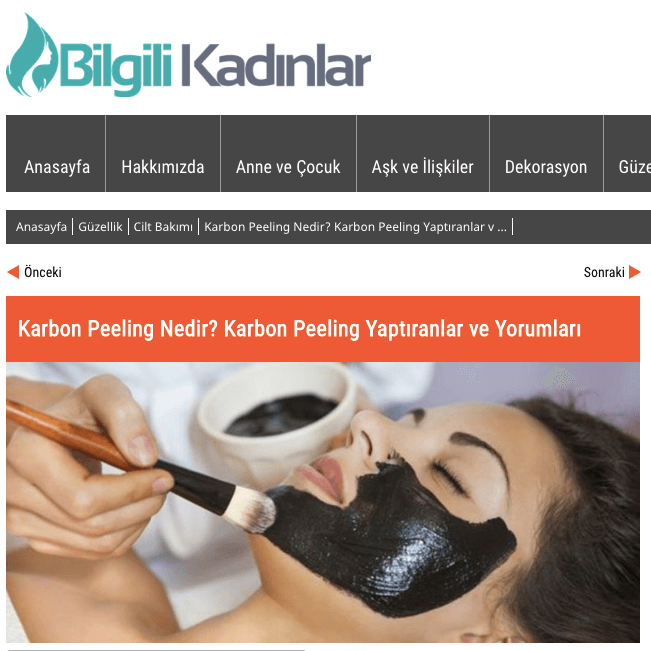 Photo of Karbon Peeling Fiyatları